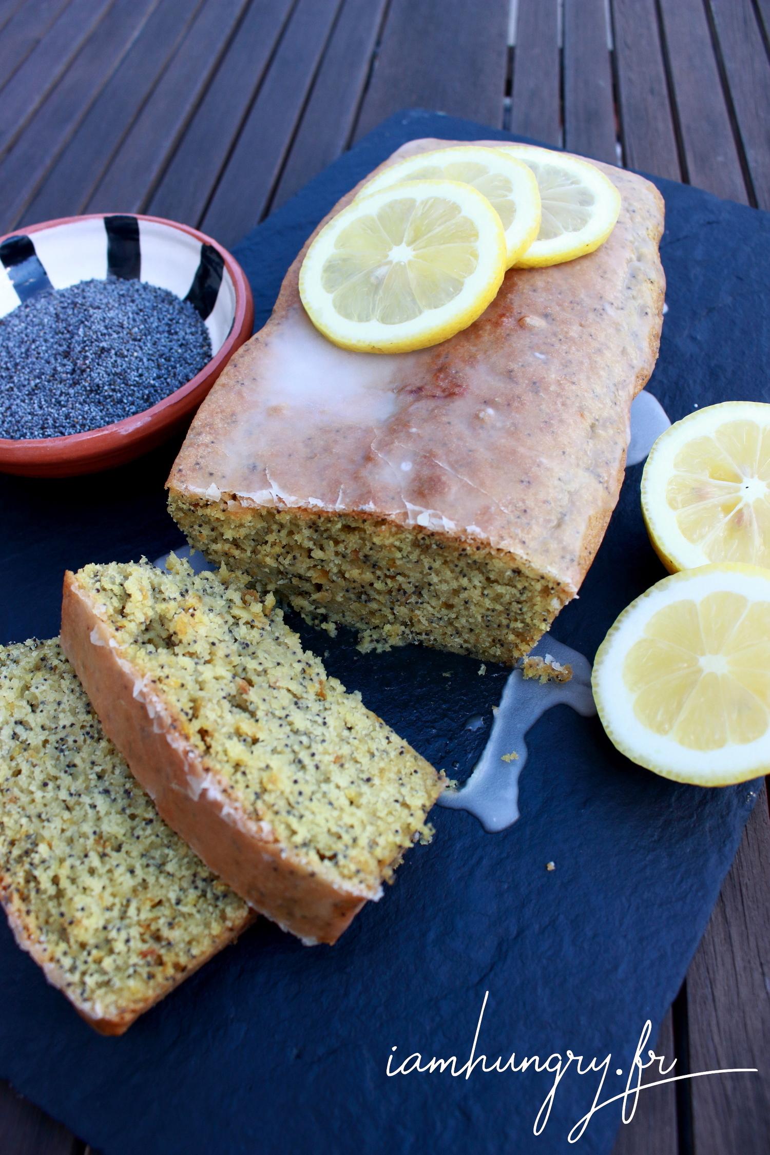 Gâteau au citron et graines de pavot