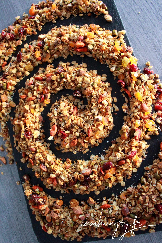 Muesli multi-graines et multi-fruits