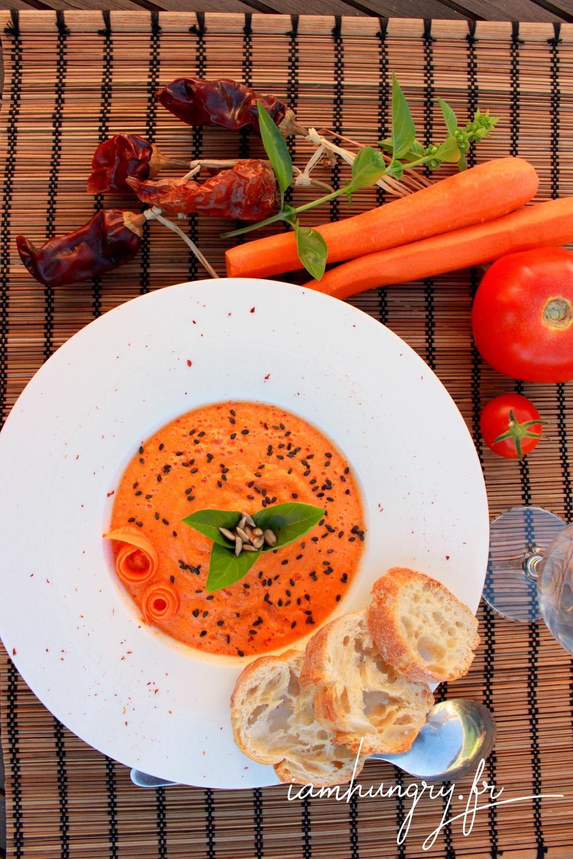 Gaspacho carottes