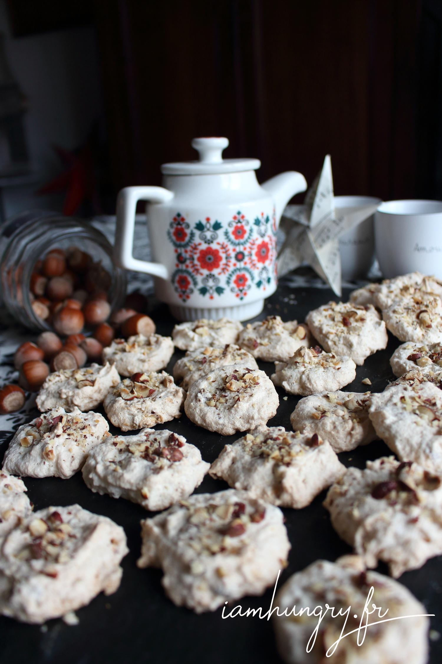 Biscuits légers à la noisettes