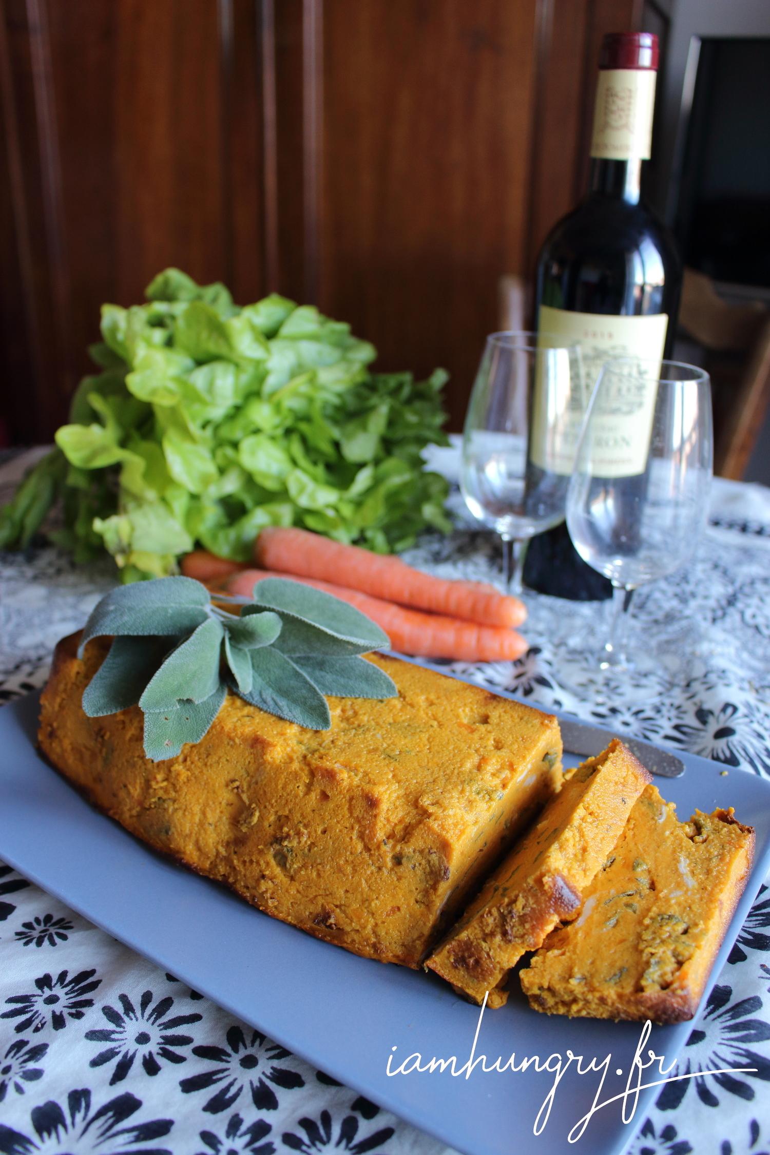 Terrine de carotte à la sauge
