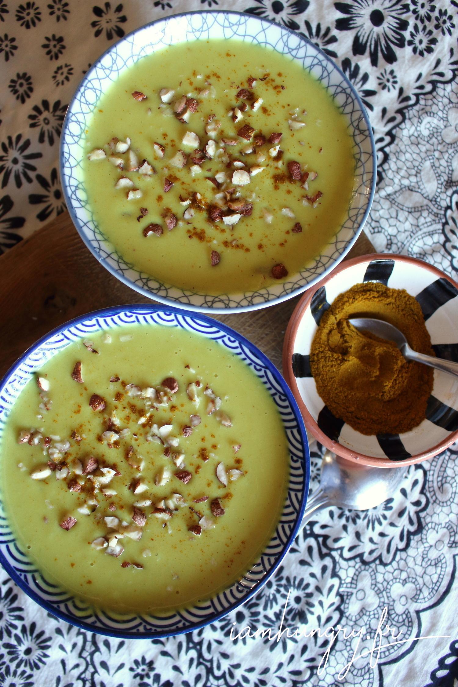 Velouté de choux fleur au curry
