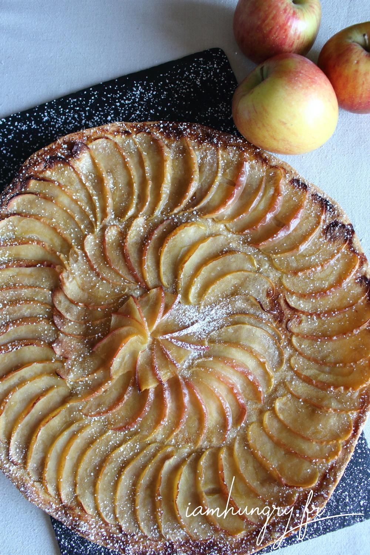 Tarte fine aux pommes 1a