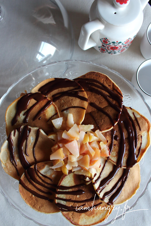 Pancakes végans