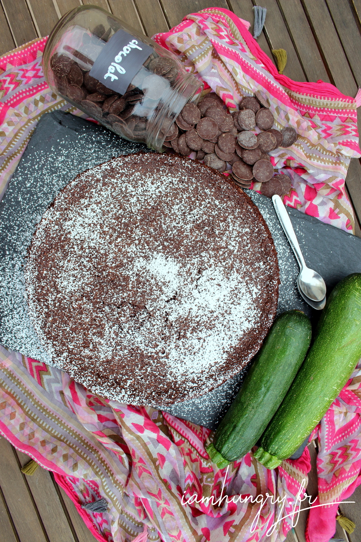 Gateau courgette chocolat 1a