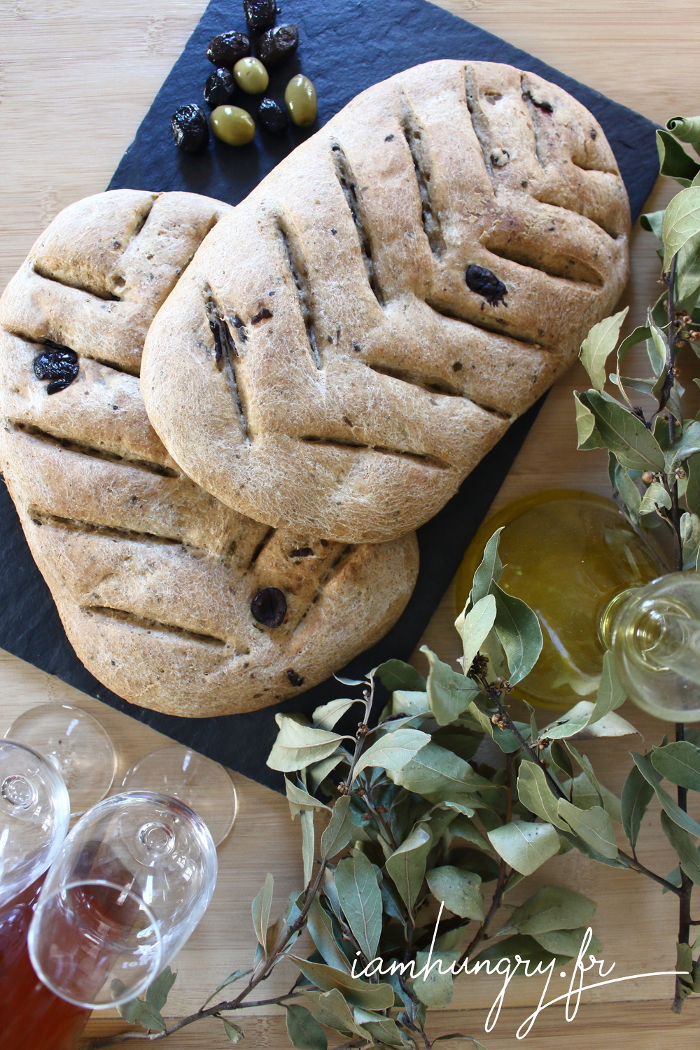 Fougasse olives 1e