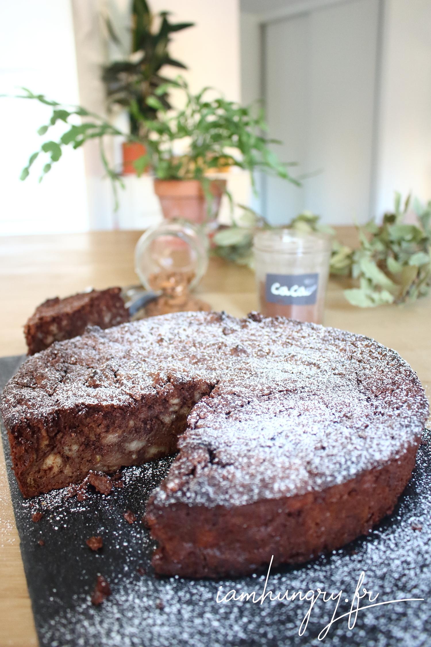 Gâteau au chocolat et pain perdu