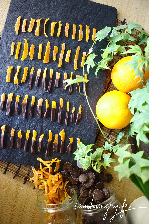 Ecorces d oranges chocolat rect
