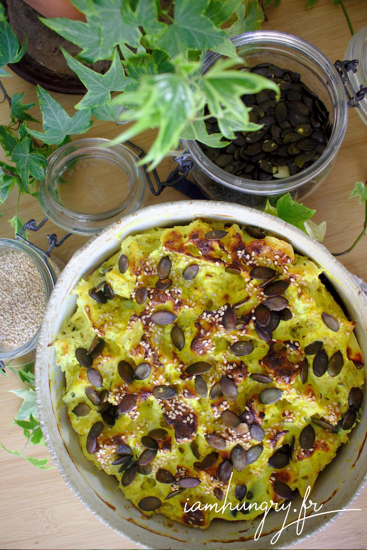 Gratin chou fleur curry rect