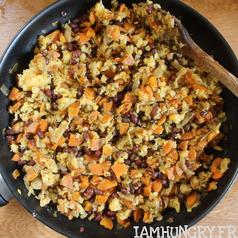 Tourte carotte 5