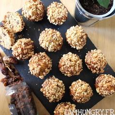 Muffins datte raisins e%cc%81rable 1 carre