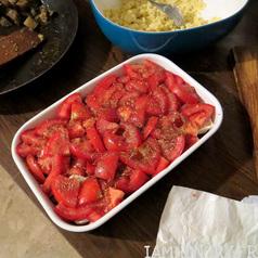 Crumble tomates aubergine3