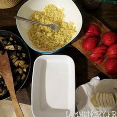 Crumble tomates aubergine6