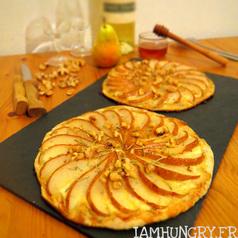 Tartelette poire roquefort1
