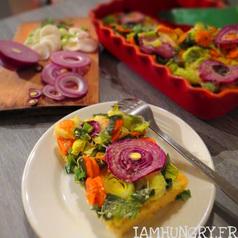 Polentarte aux legumes d hiver 1