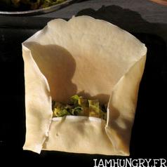 Crepes aux poireaux coco curry 3