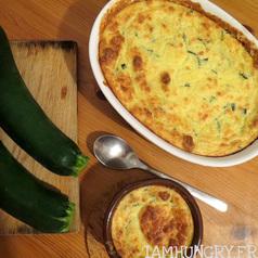 Souffle%cc%81 courgette et parmesan