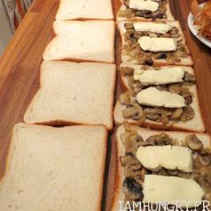 Croque monsieur champignons 3
