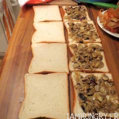 Croque monsieur champignons 4