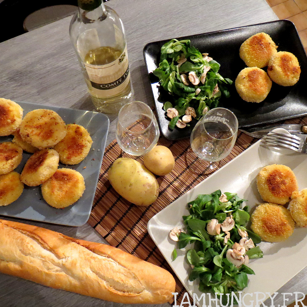 croquettes de pommes de terre et coeur de mozzarella iamhungry. Black Bedroom Furniture Sets. Home Design Ideas