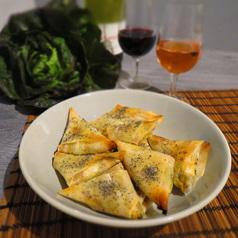 Samoussas courgette parmesan 1