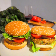 Burger vegetarien 1