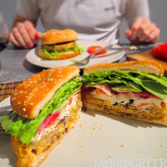 Burger vegetarien 2