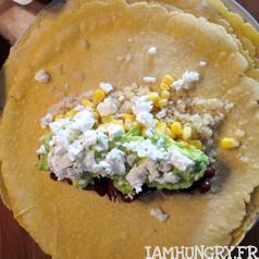 Tortillas avocat quinoa mais feta 4