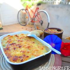 Gratin de chouchou patates au roquefort 1