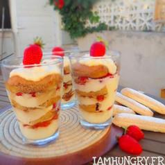 Tiramisu aux fraises 1