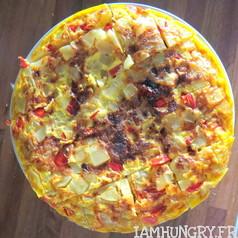 Tortillas aux poivrons 2