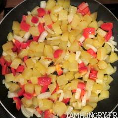 Tortillas aux poivrons 5
