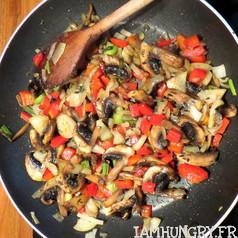 Canellonis de courgettes farcis aux champignons 7
