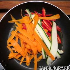 Tagliatelles de legumes 2