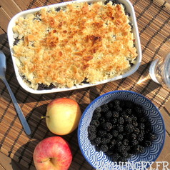 Crumble pommes mures 1