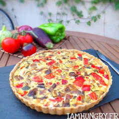 Quiche a la ratatouille 1