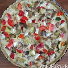 Quiche a la ratatouille 2