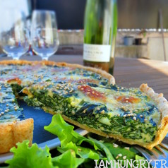 Quiche e%cc%81pinards mozza 2