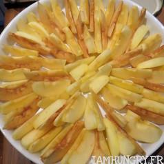 Tatin pommes coings 4