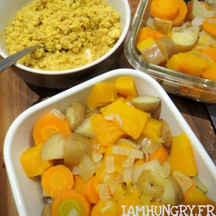 Crumble courge carotte patate 2