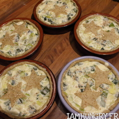 Tartelette poireaux parmesan 2