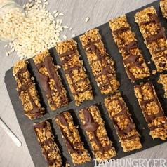 Barres de cereales riz souffle tahini 1d