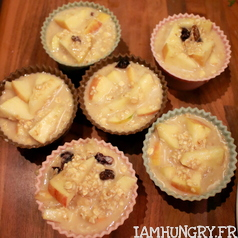 Muffins sante%cc%81 pomme canneberges 2