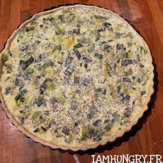 Tarte poireaux fromage blanc pavot 2