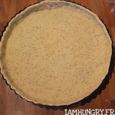 Tarte poireaux fromage blanc pavot 3
