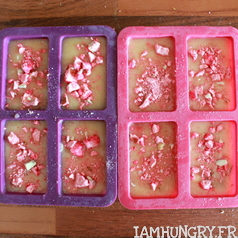 Financiers pralines roses 2
