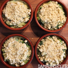 Crumble courgettes coco 2