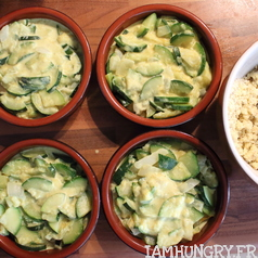 Crumble courgettes coco 3