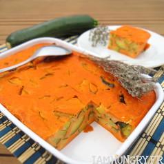 Clafouti de courgette a la tomate 1