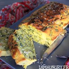 Cake Poireaux Saumon Bypass